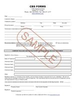 Bed Bug Infestation Inspection/Treatment Form - 100 Count - 3 Part
